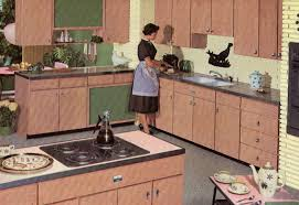 1960s Kitchen Appliances Decorating A