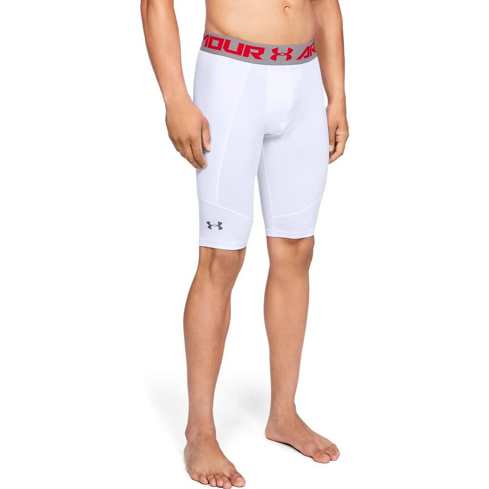 Men's Utility Slider Shorts | White | Medium | Under Armour