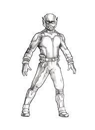 Ant Man Pencil Drawing 2015c By Sweattshop