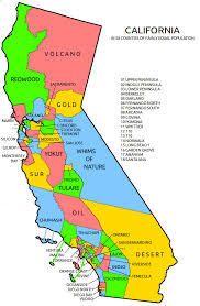 California As 58 Counties Of Approximately Wyoming Sized Population OS 557x881