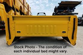 USED 2017 Ford F250 SRW LB Yellow Truck Bed :: Rondo Trailer