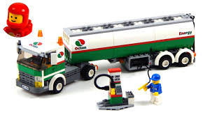 Lego City 3180 Tank Truck Lego Speed Build - YouTube