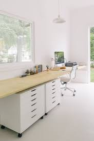Diy Floating Desk Ikea by Best 25 Plywood Desk Ideas On Pinterest Build A Couch Custom