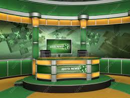 Sport Virtual Studio Set High Resolution