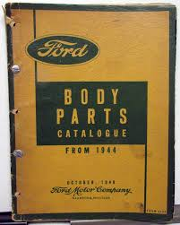 1944-1949 Ford Dealer Body Parts Book Catalogue Car & Truck Sedan ... Ford Pickup Youtube 1949 1948 1950 51 1952 1953 1954 Truck Big Job Parts 1951 Chassis Catalog Prefect Ute Wwwjustcarscomau Socal Paint Works Santee Ca Custom Built Toolbox Dennis Carpenter Catalogs Fords F1 Turns 65 Hemmings Daily Dealerss Houston Dealers Panel Front Side Filegibbons Transit Parts Delivery Van Hand Truck Rackjpg Ctc Auto Ranch Misc Used Fast Lane Classic Cars