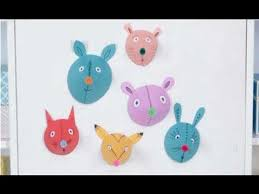 Crafts For Kids Cute Paper Animal Heads