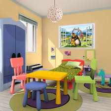 3D Window Scenery Madagascar Alex Gloria Marty Wall Decals Sticker Kids Decor Baby Room Animal