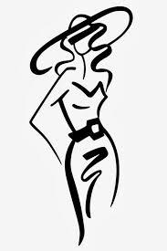 Model Clipart Fashion Designing 10