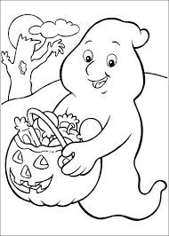 Free Coloring Pages Halloween Printable