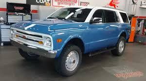 100 Tahoe Trucks For Sale 2018 Chevy Transformed Into Classic K5 Blazer SEMA
