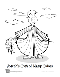 Joseph Displays The Coat Of Many Colors That His Father Jacob Gave Him Genesis 37