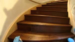 Restaining Hardwood Floors Toronto by Staining Stairs Youtube