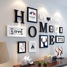 rahmen holz foto wand kreatives modernes einfaches wohnzimmer restaurant verein foto rahmen hängende wand kombination dekoration dimensionaler