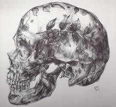 Drawing Skulls Art Black And White Beautiful Inspiration My