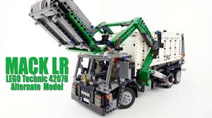 100 Truck Designer Mack LR Garbage LEGO Technic 42078 Official Alternate