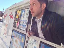 A Selfie Of Wilson Reporting A Column On Turf Wars Between Ice Cream ... Ice Cream Truck Wars Ep 3 Drunk Driver Ice Cream Man Youtube Truck Arraigned For Bashing Hal Food Cart Vendor The Cold War Epic Magazine Chicago Cream Trucks Man Simpsons Wiki Fandom Powered By Wikia Bbc Autos Weird Tale Behind Ice Jingles Newport News Robbed Boy At Gunpoint Noah Billy Taking Out Karmicecream 1958 Chevy Truck Katherine Langford Is On Set Driving A Down The Baywatch Star Nicole Eggert Now Drives An Bangshiftcom Drag Van Silly Joe Sings Store Big And