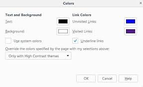 Article Name How To Override Website Color Schemes In Firefox