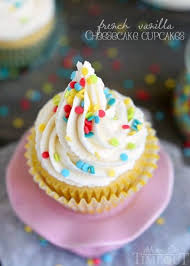 How about French Vanilla Cheesecake Cupcakes for the dessert win It s like two desserts in