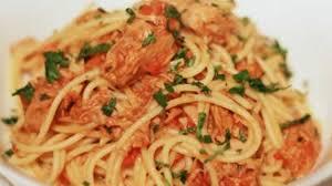 recette de pate au thon pates au thon avec sauce tomate recette par recette thermomix