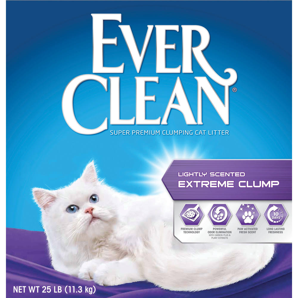 Ever Clean Clump Cat Litter - Extra Strong Scented, 25lbs