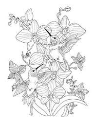 Southern Blooms Coloring Page