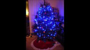 Bethlehem Lights Christmas Trees by Blue Light Christmas Tree Youtube
