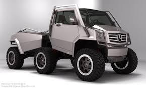100 6 Wheel Mercedes Truck X Concept ExpensiveConcepts