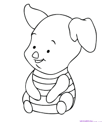 Baby Disney Characters Coloring Pages Home
