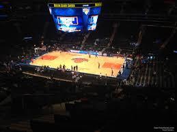 Madison Square Garden Section 226 New York Knicks