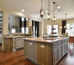 Burrows Cabinets Kitchen Island With Monaco Posts And Center Integrated Corners