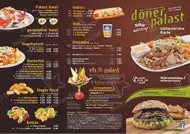 menu at doner palast restaurant neumünster