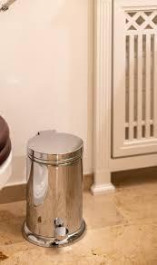 retro bad mülleimer traditional bathrooms