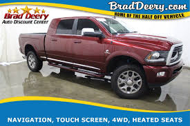 100 Truck Country Davenport Ia Used 2018 Ram 2500 Limited Mega Cab 4X4 Diesel HtdAC Lthr Seats