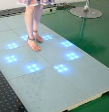 interactive led floor tile stage disco club event
