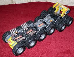 TOMY TOYS 1986 Monster Machine 16-Wheel Mad Masher Motorised Toy ...