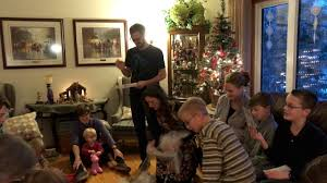 Saran Wrap Christmas Tree With Ornaments by Plastic Wrap Gift Ball Family Activity Game Christmas Youtube