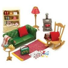 Sylvanian Families Cosy Living Room Furniture Amazoncouk Toys Games