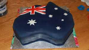 Cake Decorating Books Australia by How To Make An Australia Shaped Flag Cake Happyfoods Youtube
