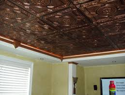 ceiling pressed tin paintable wallpaper amazing glue ceiling
