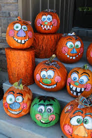 Painted Pumpkins Halloween Crap Pinterest Pumpkin Decorating