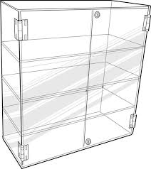Home Aluminium Cabinets Wall Display Cases Pisces Glass Cubes Ezi Shelf Acrylic Cast Micro Buttons Smart Stem