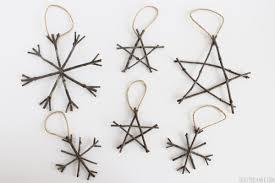Rustic Twig Ornaments More DIY Ornament Ideas On DuctTapeAndDenim