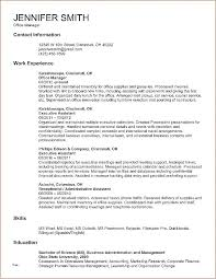 Resume Format Word Document Sample In Free Professional Ms