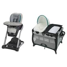 Graco Blossom Highchair, Sapphire And Pack 'N Play Quick Connect Portable  Lounger Playard, Darcie How Cold Is Too For A Baby To Go Outside Motherly Costway Green 3 In 1 Baby High Chair Convertible Table Seat Booster Toddler Feeding Highchair Cnection Recall Vivo Isofix Car Children Ben From 936 Kg Group 123 Black Bib Restaurant Style Wooden Chairs For The Best Travel Compared Can Grow With Me Music My First Love By Icoo Plastic With Buy Tables Attachconnected Chairplastic Moulded Product On