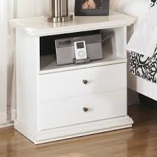 ashley furniture bostwick shoals twin panel bed in white local