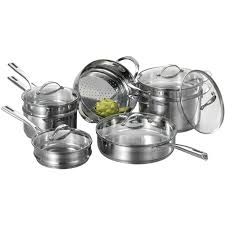 Amazon CAT CORA by Starfrit 12 Piece Stackable Stainless