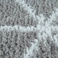 huis kurzflor teppich für badezimmer mit rauten muster in