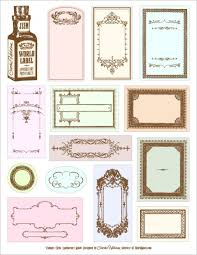 Printable Apothecary Labels These Free Are Fillable PDF Templates So You Can Customize Them Before