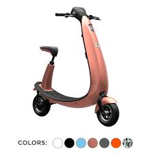 Ojo Electric Scooter Ford Is Available In Multiple Colors