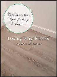 SimpleDecoratingTips Luxury Vinyl Planks